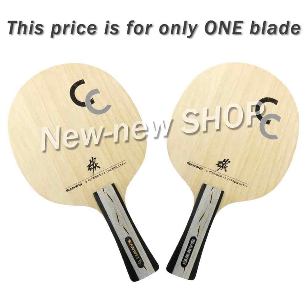 Sanwei CC ( 5+2 Carbon, OFF++ ) Table Tennis Blade Ping Pong Racket Bat Paddle