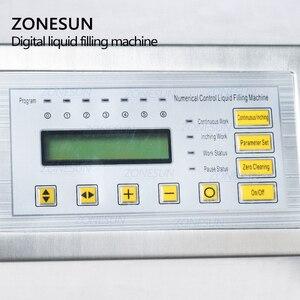 Image 3 - ZONESUN GFK 160 Digital Control Pump Flüssige Füll Maschine Mini Tragbare Elektrische Parfüm Wasser Trinken milch Flaschen Füllstoff