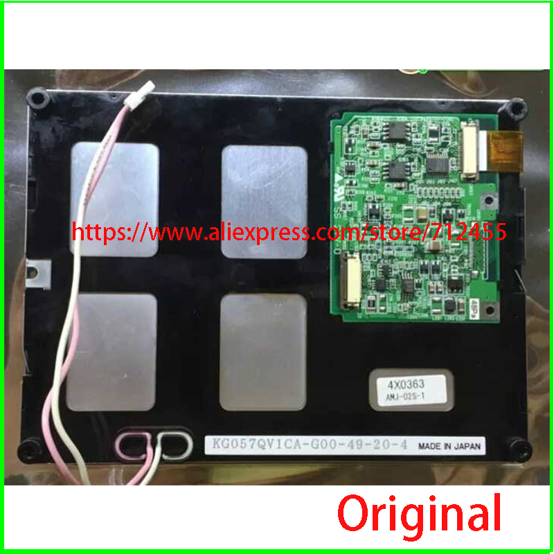 KG057QV1CA-G050 KG057QV1CA-G000/G04/G03/G00 KG057QV1CA-G60 5.7 Inch LCD Display For Industrail Equipment