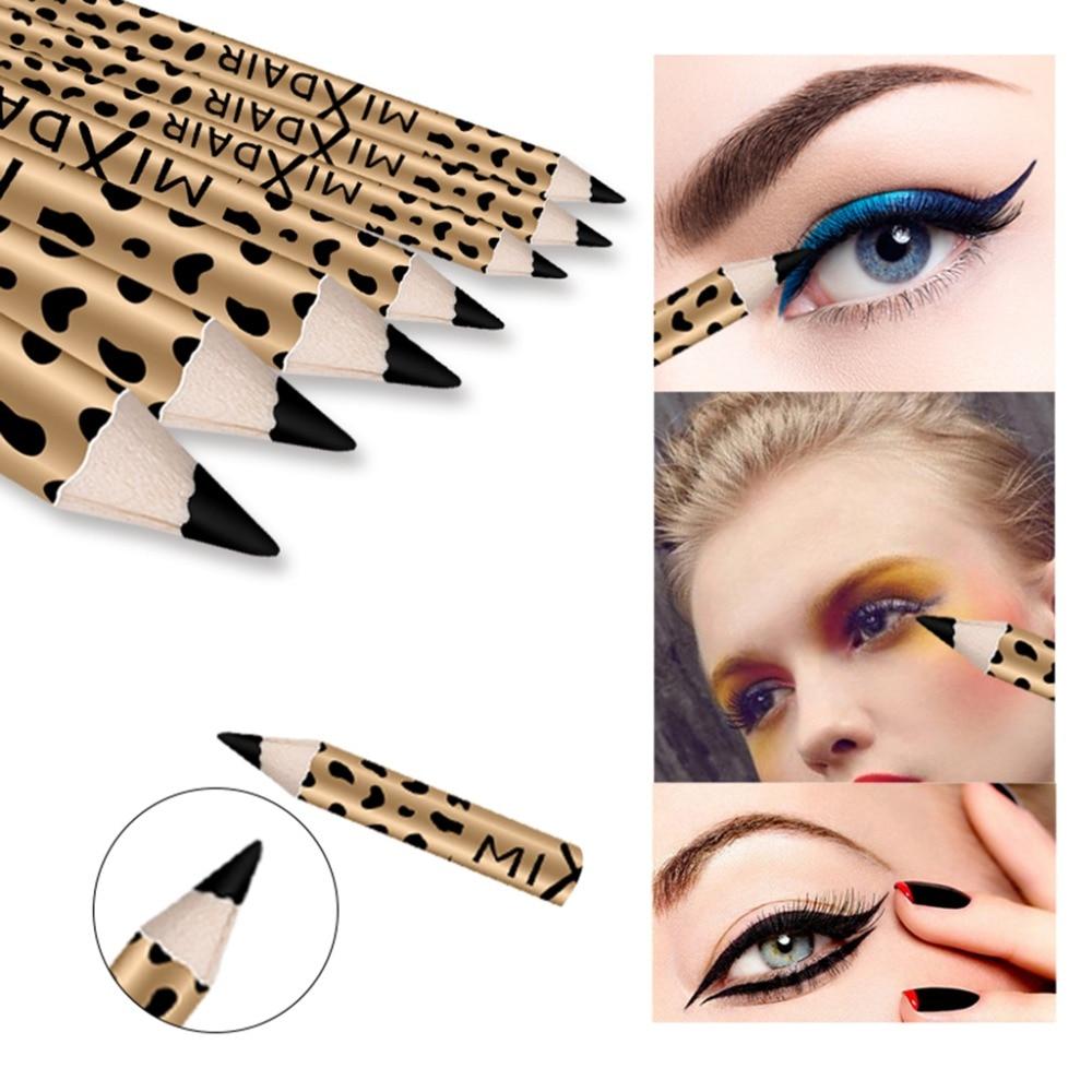 MIXDAIR eyebrow pencil 2in1 multifunction eye makeup tool waterproof long lasting Leopard Print eyebrow tattoo pen MD005 1