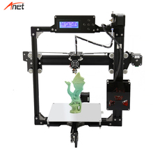 Anet A2 Plus Size Stampante 3d Easy Assembly Optional LCD 2004/12864 Aluminum Frame Impressora 3d Kit Completo Offline 3d Printe