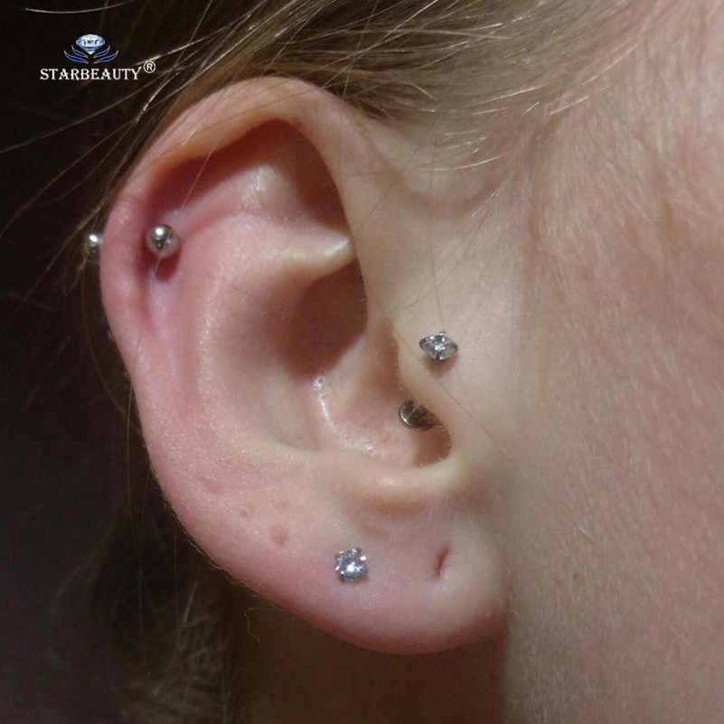 763cc69f4 ... 1pc/lot 1.2x8/6mm Round Bijoux Nose Piercing Labret Helix Piercing  Earrings Lip