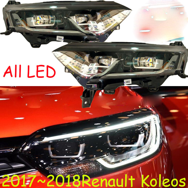 HID,2017~2019,Car Styling,Koleos Headlight,Fluence,Kangoo,Laguna,Logan,megane,sandero,scala,safrane,Koleos head lamp