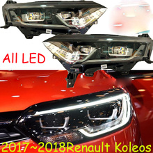 HID, 2017 ~ 2019, stylizacja samochodów, reflektor Koleos, Fluence, Kangoo, Laguna, Logan, megane, sandero, scala, safrane, lampa czołowa Koleos