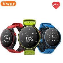 Vwar T2 спортивный водонепроницаемый смарт-браслет bluetooth артериального давления кислорода часы монитор сердечного ритма шагомер wirstband для IOS Android