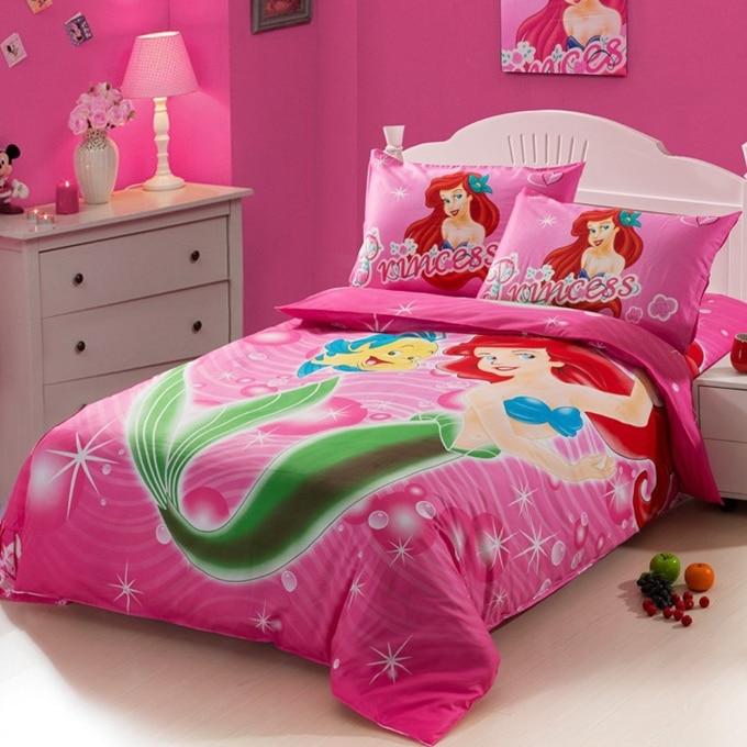 Aliexpress.com : Buy The little Mermaid hot pink Kids ...