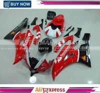 YZF R6 2006 2007 Motorbike Full Fairing Kits For Yamaha 06 07 R6 Injection Mold Fairings SANTANDER ABS Bodywork