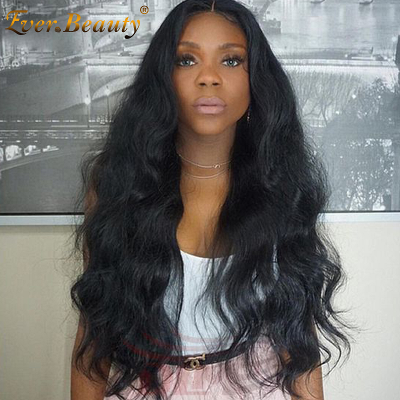 360 Lace Front Human Hair Wigs Cambodian Virgin Hair 150 Density Body Wave Glueless Full Lace