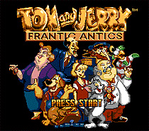 Tom and Jerry 16 bit MD Game Card For Sega Mega Drive For Genesis