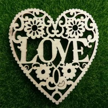 10pcs wooden carved letters + rope, home decor, pendants, wedding decorations, Christmas decorations