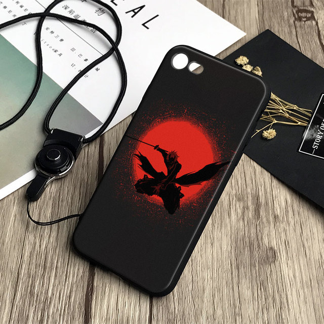 Bleach TPU Phone Case cover Shell For Apple iPhone