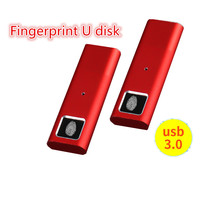 Fingerprint U disk 128GB 64GB 32GB 16GB 8GB Metal USB3.0 Flash Memory Stick Pendrive U Disk Business U disk USB 3.0 Flash Drive