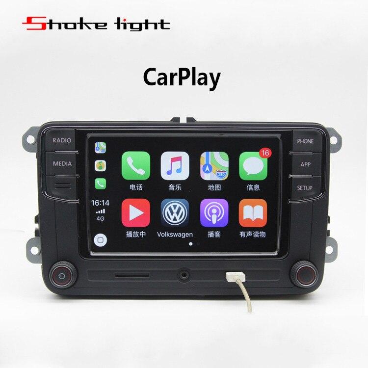 все цены на 6RD035187B RCD330G Radio 6.5'' MIB UI Stereo CarPlay APPs MirrorLink Bluetooth For Golf 5 6 Jetta CC Tiguan Passat Polo Desay онлайн