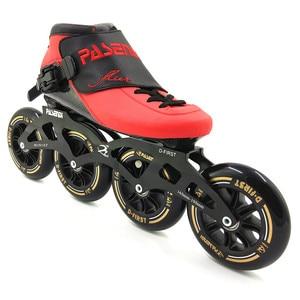 Image 3 - PASENDI חום moldable inline מהירות סקייט 4 גלגל 110mm 100mm תרמופלסטיים רולר inline איש נשים מקצועי rolki סקייט