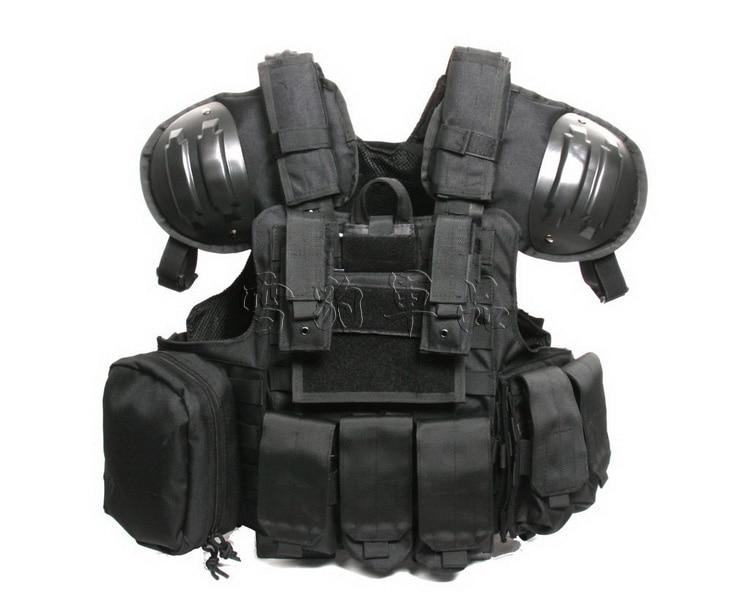 Ciras mar tactical vest of heavy duty shoulder pad vest-in