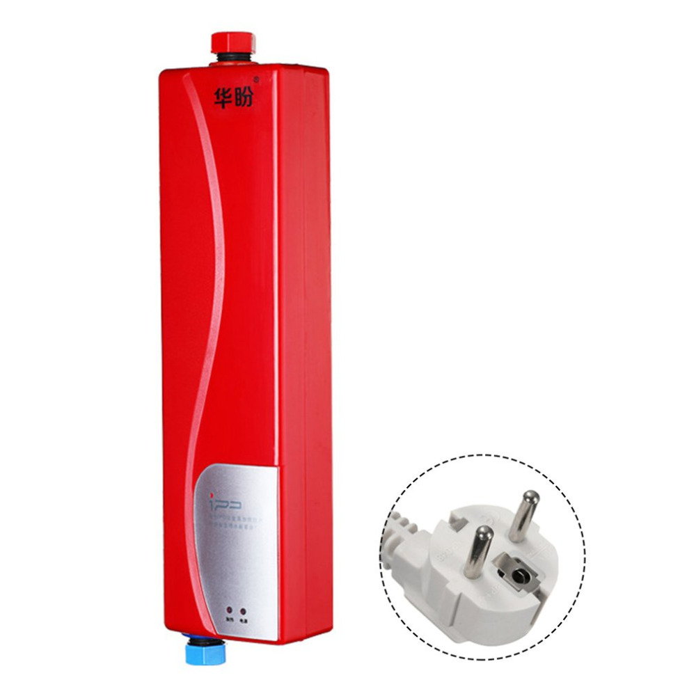 все цены на Universal Instant Heating Type Kitchen Po Electric Water Heating Machine for Household Use 3000W High Power Water Heater онлайн
