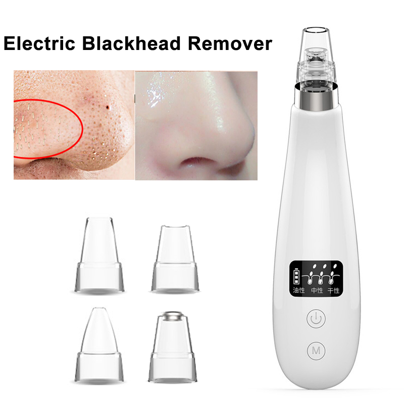 Electric Blackhead Remover Vacuum Suction Machine Acne Pore Cleaner Extractor Facial Peeling Dermabrasion Beauty Instrument blackhead facial pore vacuum cleaner electronic blackhead removal facial cleaner acne remover extraction pore comedone extractor