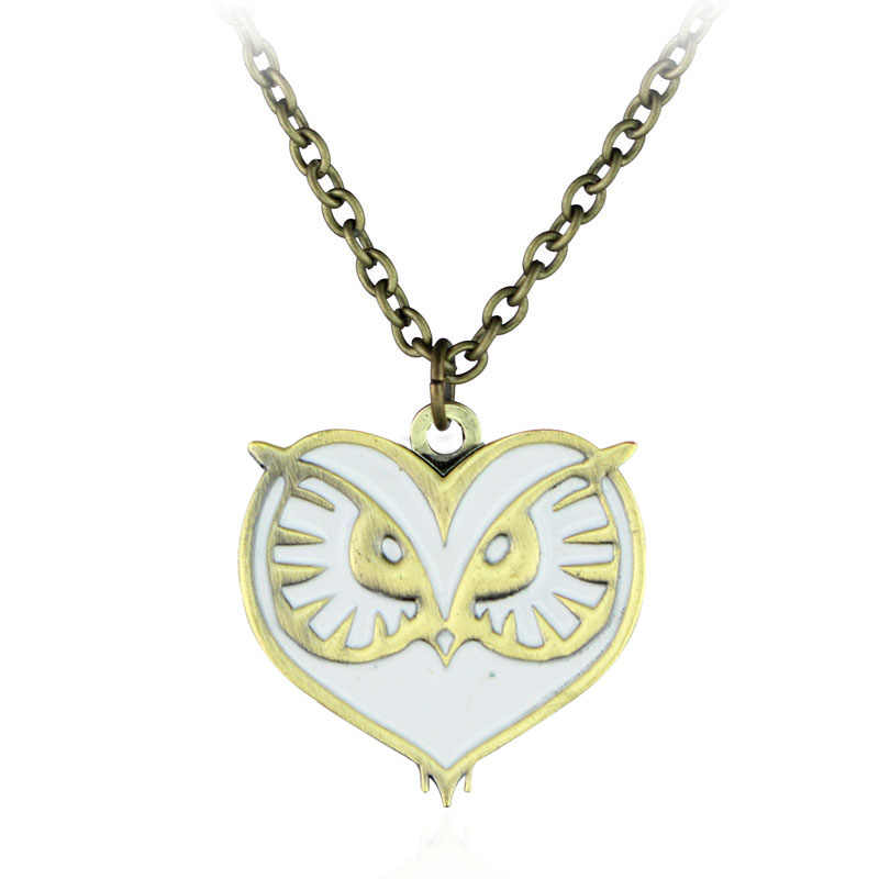 Cheaper Price Walking Dead Legend of Zelda Dumbbells Star Wars Dota Viking Necklace Vintage Gothic Chain Kolye Long Necklace