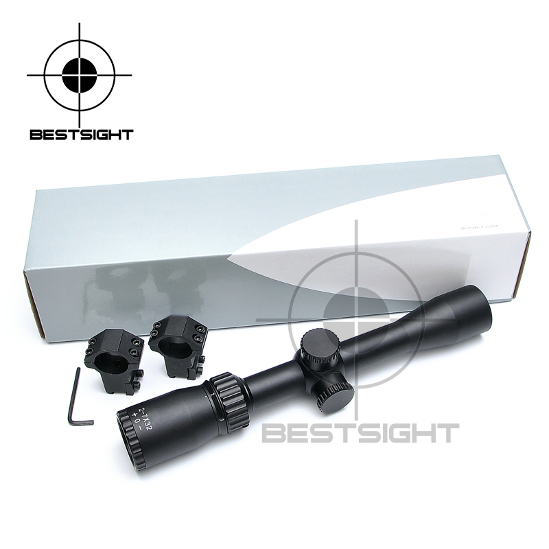 Carl ZEISS 2-7X32 Rifle Scope Tacitcal Gear Hunting Riflescope Mid Dot Sight For Air Rifle Gun With Free Scope Mount carl zeiss touit 1 8 32