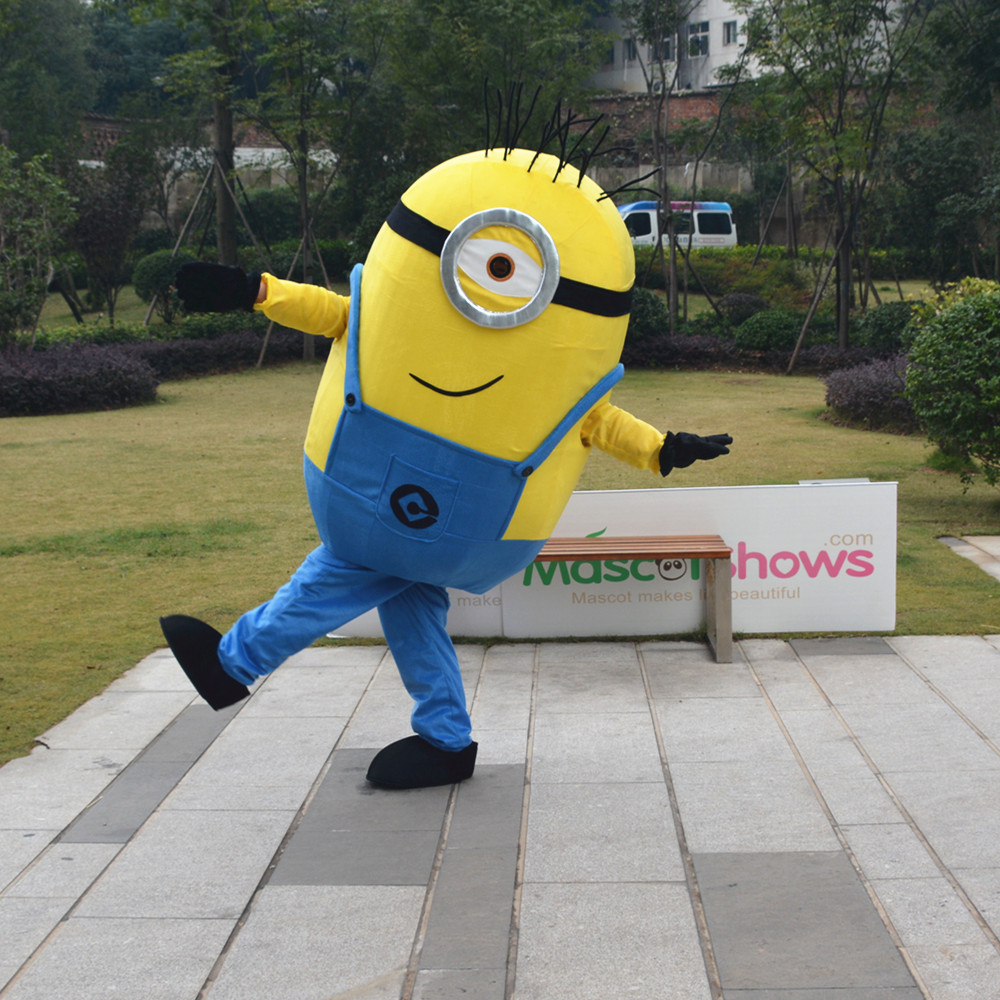 On sale free shipping Despicable me minions mascot costume for adults despicable me mascot costume S-in Mascot from Novelty u0026 Special Use on Aliexpress.com ... & On sale free shipping Despicable me minions mascot costume for ...