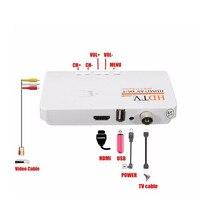 DVB-T/DVB-T2 TV Box tuner Récepteur HDTV AV CVBS et 1080 P HD TV Satellite Récepteur pour PC LCD/CRT moniteurs DVBT2 sans VGA