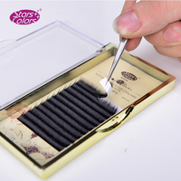 5 boxes/lot Charming Swan Fur Eyelash Thickness 0.07mm Volume Camellia Eyelash Extension Charming cilia beauty tools
