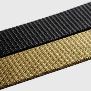 Image 5 - Nuovo Youpin Zaofeng Cintura Esterna Tattico Cintura 100% 96 Nylon Nastri E Fettucce Regolabile Lunghezza 38 MILLIMETRI di Larghezza della Cinghia Degli Uomini di Avere 3 colori