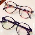 Marcos de Anteojos de moda Grande Recetados Marco De Cristal Redondo Mujeres Gafas de Marca Marco Miopía Óptico Marco Armação de Gafas
