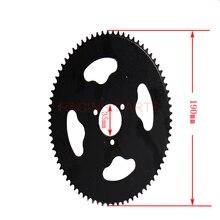 74 Tooth 74T T8F 35MM Rear Sprocket Mini Moto ATV Quad Dirt Pit Pocket Bike Cross 47cc 49cc Parts vortex 425zr 46 red 46 tooth rear sprocket