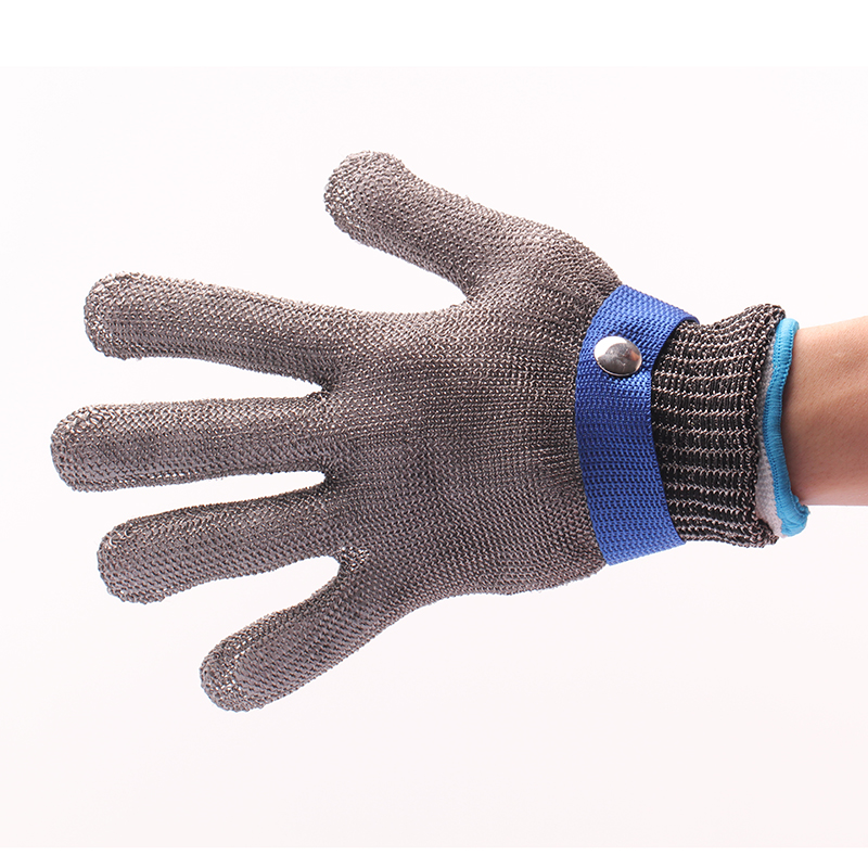 Safety Cut Proof Stab Resistant work gloves Stainless Steel Wire Safety Gloves Cut Metal Mesh Butcher Anti-cutting Work Gloves cut resistant glove level 5 wire anti edge anti stab knife cut resistant gloves stainless steel wire1pcs price