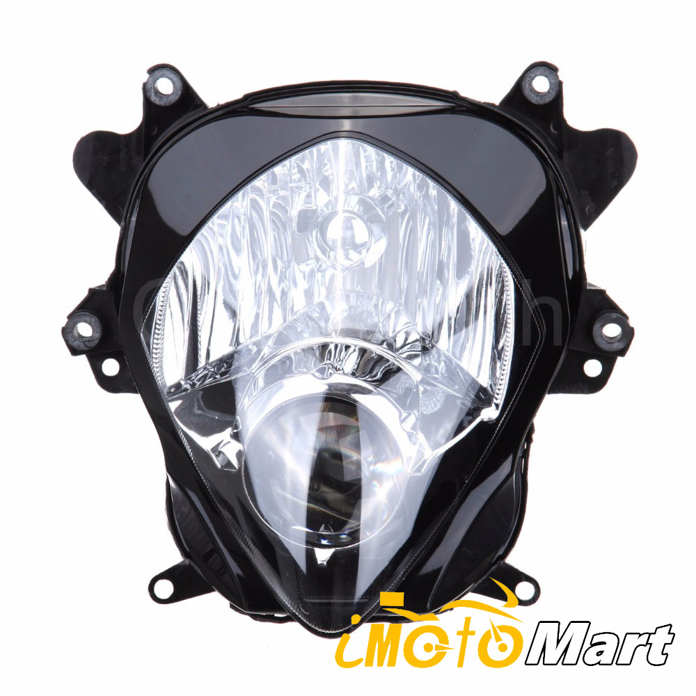 Motorcycle Front Light Headlight Headlamp Assembly Housing <font><b>Kit</b></font> For <font><b>SUZUKI</b></font> GSXR GSX-R1000 <font><b>GSXR1000</b></font> 2007 2008 K7 <font><b>K8</b></font> image