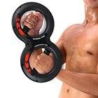 ★  15 кг / 20 кг тяжелые захваты рукоятки тренажерный зал Power Fitness запястье 8 формы мышц предплечь ①