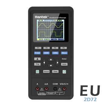 3in1 Digital 2D42 Oscilloscope+Waveform Generator+Multimeter Portable USB 2 Channels 40mhz 70mhz LCD Display Test Meter Tools