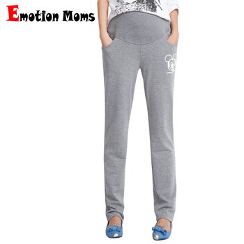 Emotion Moms Style Maternity Pants&Capris pregnancy Pants Maternity trousers For Pregnant Women Pregnancy Pants pregnant Capris фото