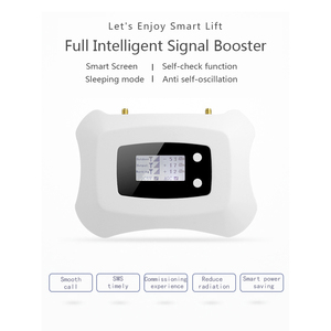 Image 5 - LCD Display 4G LTE 800mhz Cellular Signal Booster 70dB LTE Amplifier LTE Band 20 4G Internet Mobile Repeater Extender For Europe