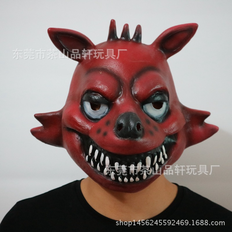 hot selling halloween party cosplay five nights at freddys 4 fnaf bonnie foxy freddy fazbear bear mask gift for kidsadult toy in party masks from home