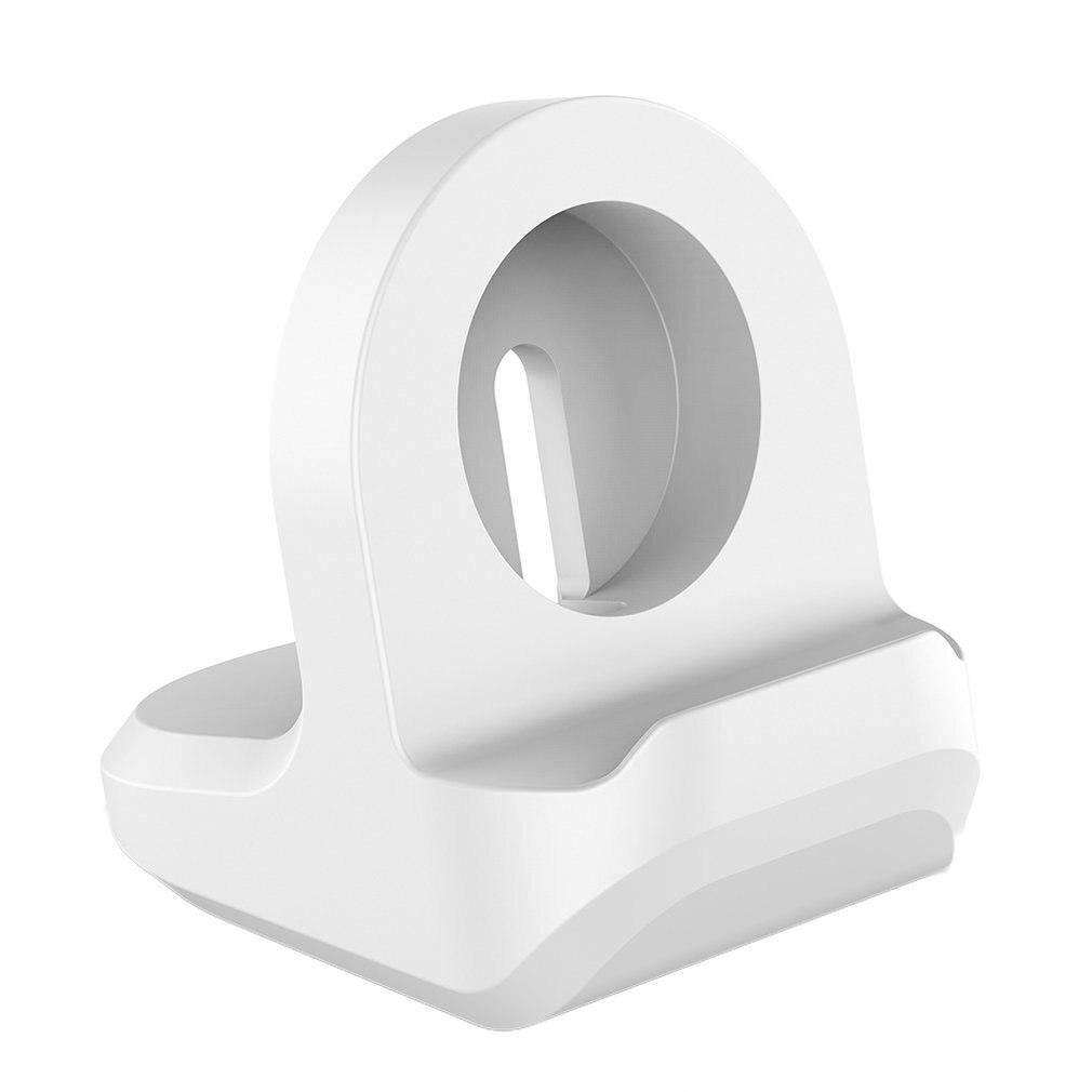 Base de luxo para apple assista titular mão livre cabo buraco suporte de carregamento suporte de alumínio para iwatch relógio doca suporte novo