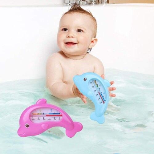 Rose bleu flottant eau bébé salle de bain thermomètre enfant en bas âge température baignoire enfants bain testeur d'eau enfants jouet chambre capteur d'eau