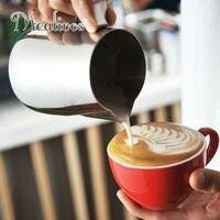 Mealivos Paslanmaz Çelik Espresso Kahve araçları Sürahi Zanaat Latte Süt Frothing Sürahi