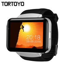 "Newest DM98 Android 4.4 Smart Watch Phone 2.2"" Big Screen 2G 3G Smartwatch Clock with HD Camera WIFI GPS Speaker APP Download"