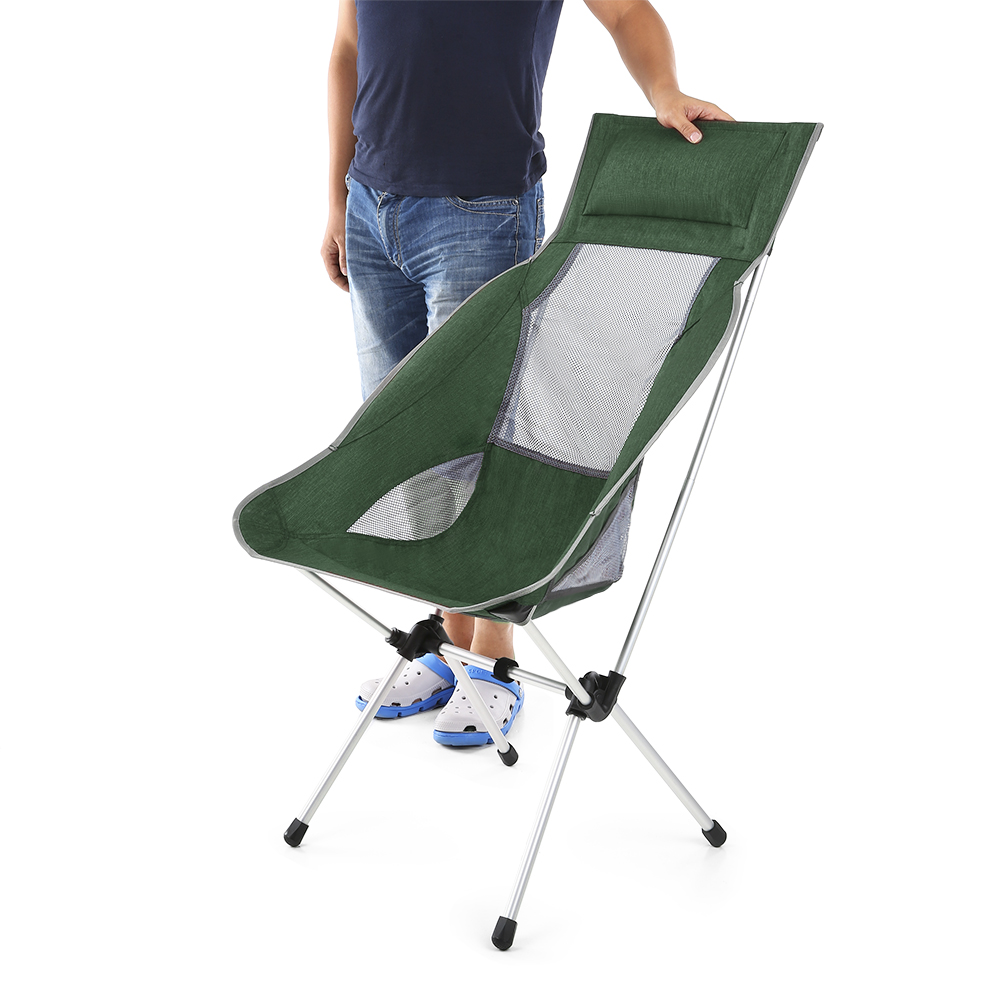 Backpack fishing chair - Tomshoo Folding Fishing Chair Ultralight Portable Outdoor Tool Picnic Fishing Camping Backpacking Chairs With Carry Bag