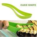 Торт нож пирог тесак резак роман практическая кухне гаджет приготовления инструменты для экологичный зеленый Magisso торт ножей