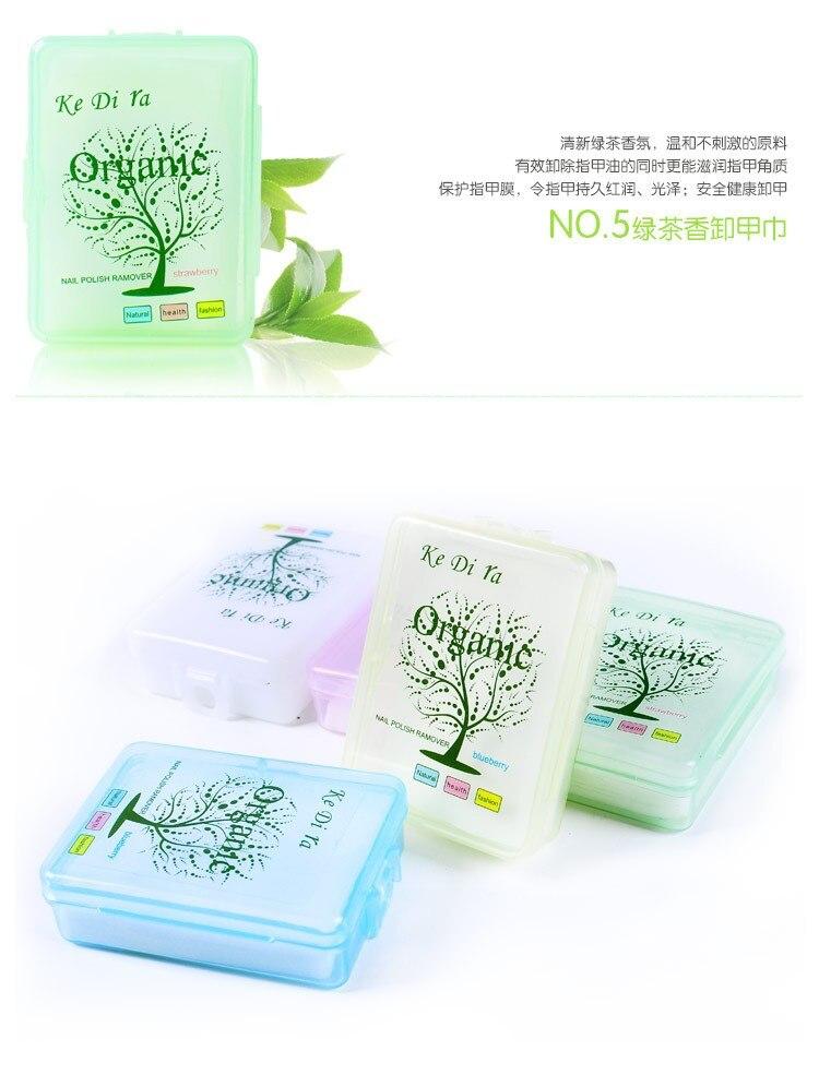 10 stks / partij Nagellak Remover Fruit Nursing Handdoek Wassen Nail - Nagel kunst - Foto 6