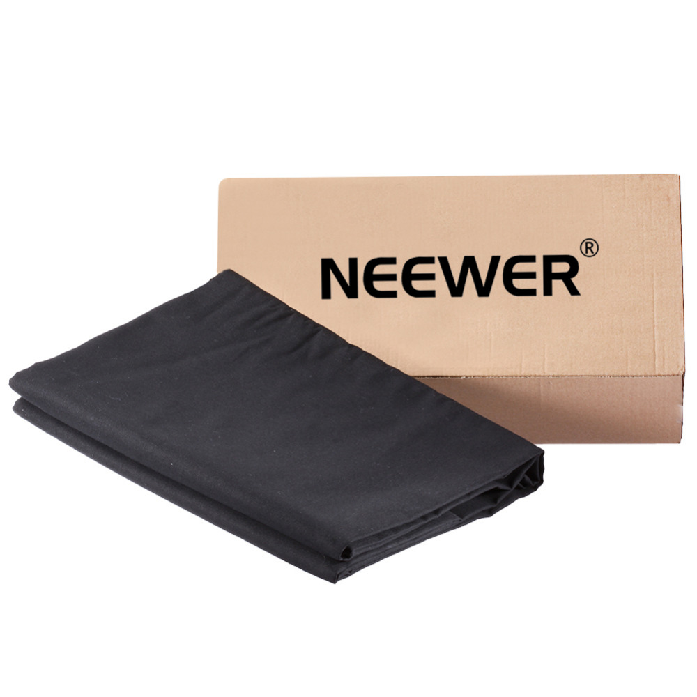 Neewer 9x13FT/2.8x4M Photo Studio 100% Pure Muslin Collapsible Backdrop Background for Photography/Video/Televison Black фотоальбом коллекция m studio коричневый за семью замками тип 4 нат кожа