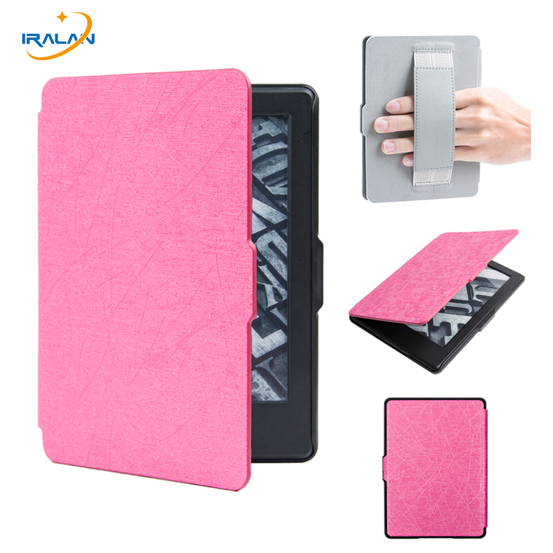 Magnet PU Leather Smart Slim E-Book Case For Amazon All-New Kindle 2016 Release 8th Gene ...