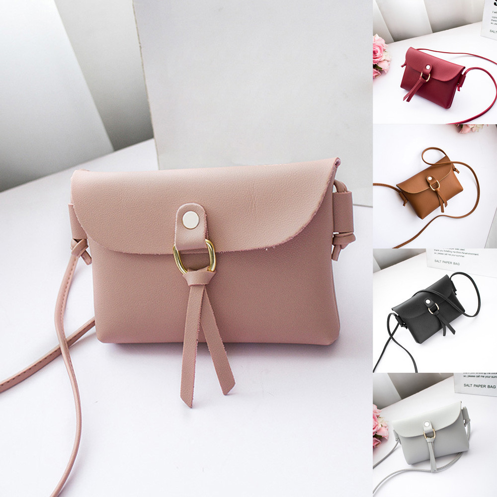 2018 New Arrival Messenger Bags Women Fashion Solid Cover Tassels Crossbody Bags Shoulder Bags Phone Coin Bag bolsa feminina S