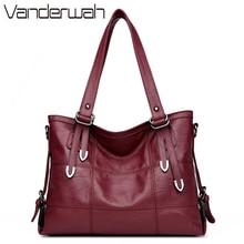 VANDERWAH четыре стрелки Леди Топ-ручка сумки женские известные бренды Женский шить повседневная сумка для Girls