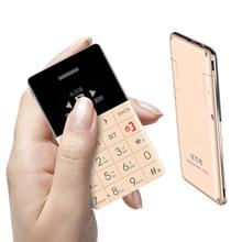 Qmart q5 arabe, hébreu, suédois bluetooth télécommande mp3 fm bluetooth dialer mini ultra-mince carte de crédit mobile téléphone p100
