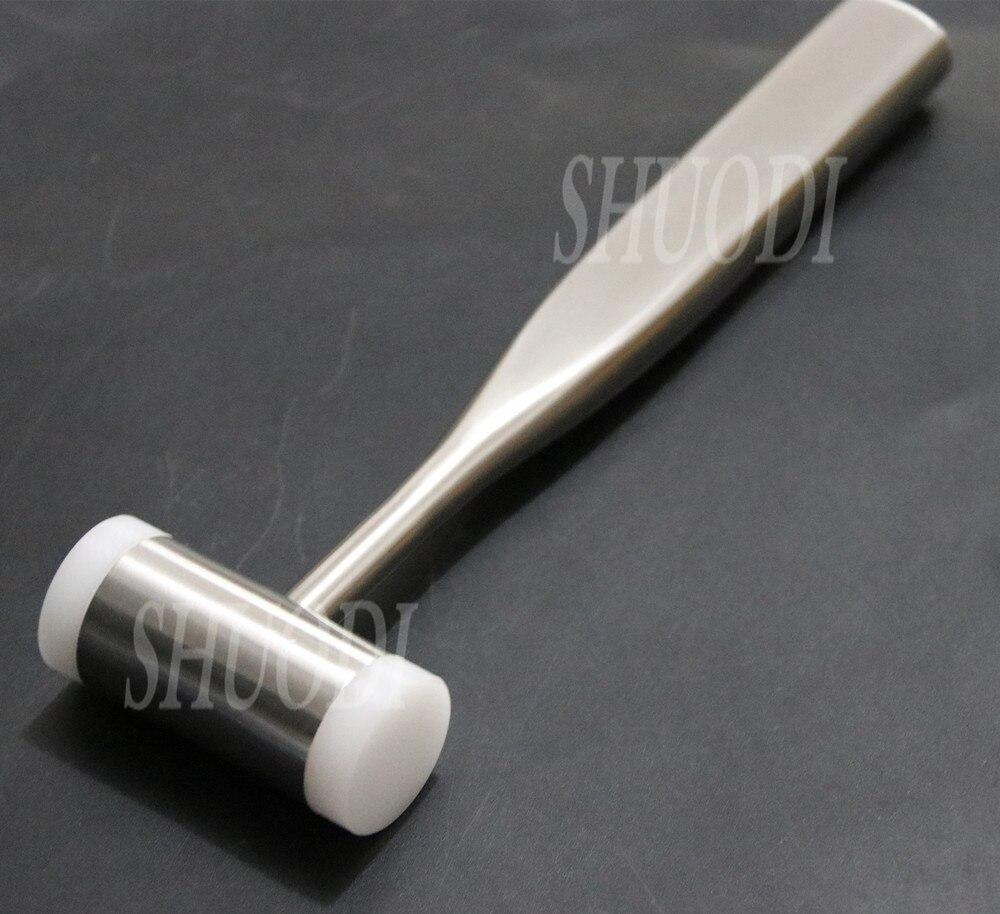 1 pièces Autoclavable os marteau dents outil d'extraction chirurgicale dents maillet Implant dentaire Martelli Chirurgici Instrument