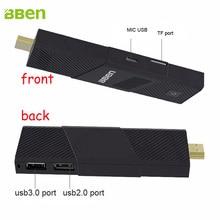 1 piece Bben Quad Core windows10 MINI PC Smart TV Box  4gb/64gb WIFI HTMI bluetooth TV Stick